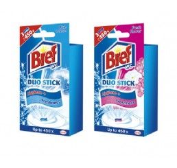 Bref WC Duo Stick 3 x 9g