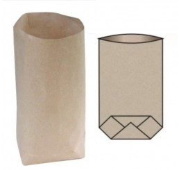 Papierové sáčky kupecké krížové dno 0,5kg