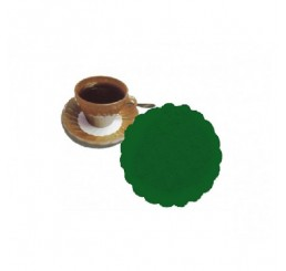 Rozetky premium 9cm zelené 500ks / 40ks