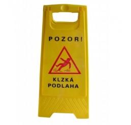 Výstražná tabuľa - Pozor mokrá podlaha !