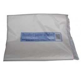 Desiatový papier skladaný 45 x 30 cm, 50 hárkov