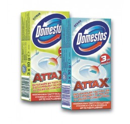 Domestos ATTAX WC prúžok 3 x 10g