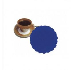 Rozetky premium 9cm modré 500ks / 40ks