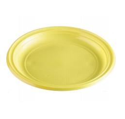 Tanier PS nedelený žltý Ø 22cm ( 30ks )