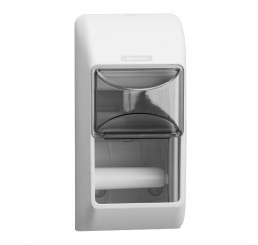 Zásobník na toaletný papier Katrin 2 rolky biely